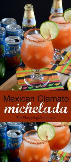 The Michelada Mexican Cocktail with Clamato® | The Shopping Mama