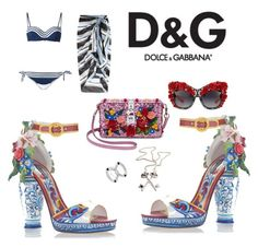 """""""Untitled #217"""" by nocarboncopy ❤ liked on Polyvore featuring Dolce&Gabbana"""