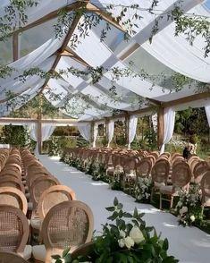 Cute Wedding Ideas, Wedding Goals, Perfect Wedding, Wedding Planning, Tent Wedding, Dream Wedding Dresses, Garden Wedding, Wedding Venues, Sage Green Wedding