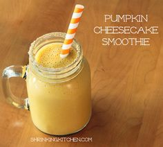 pumpkin cheesecake smoothie (1)