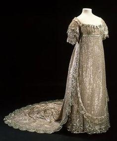 Princess Charlotte's Wedding Gown, 1816