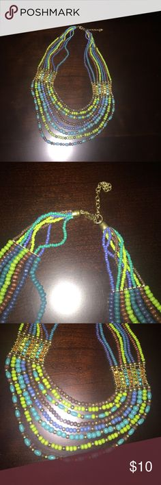 Beautiful beaded necklace Beautiful beaded necklace with clasp Jewelry Necklaces