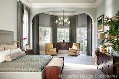 Master Bedroom - Godfrey Design Inc.