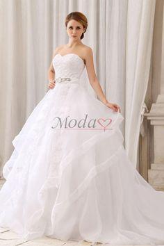 vestidos para novia corte princesa