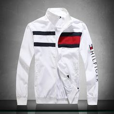 designer jacket for Sale in Edgewater, FL - OfferUp Designer Jackets For Men, Mens Designer Shirts, Designer Clothes For Men, Tommy Hilfiger Outfit, Tommy Hilfiger Jackets, Cool Shirts, Casual Shirts, Adidas Outfit, Mens Clothing Styles