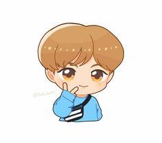 Kpop Drawings, Cute Drawings, Nct Logo, Zen, Jisung Nct, Mark Nct, Aesthetic Stickers, Cute Chibi, Kpop Fanart