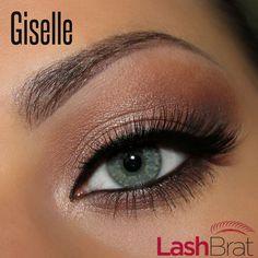 IG: @Lash Brat Giselle mink lashes! Available now at www.lashbrat.com Eye Model & #mua - @theamazingworldofj