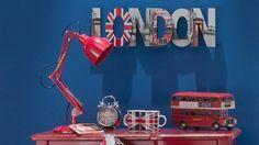 accessoires déco drapeau Londres de Maisons du monde
