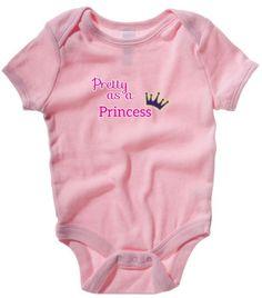 Pretty as a Princess - Girls Babygrow - Royal Baby (12-18 Months, Pink) Badass Babies http://www.amazon.co.uk/dp/B00E8EGQXO/ref=cm_sw_r_pi_dp_.sKeub0N3DDFG