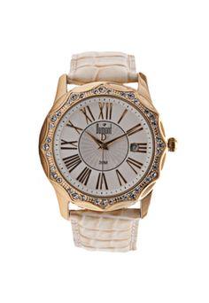 Relógio Dumont W SC95097B Modern Bege