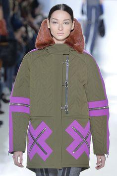 Never has purple and khaki looked so good. Balenciaga A/W 2014