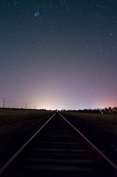 never know where the tracks will go