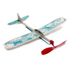 In the Clouds Model Plane