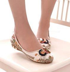 2017 Women's Loafers New Women Shoes Lady Ballerina Slipper Flat Shoes Woman Summer Flats Casual Shoe Ballet Ballerinas 35-40