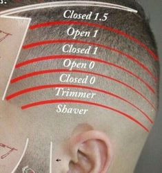 You can find Barber haircuts and more on our website. Barber Haircuts, Haircuts For Men, Mens Clipper Cuts, Hair And Beard Styles, Curly Hair Styles, Barber Tips, Hair Cutting Techniques, Coiffure Hair, Hair Barber