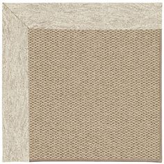 Capel Inspirit Machine Tufted Natural/Brown Area Rug Rug Size: 8' x 10'