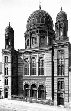 Berlin | Vor 1933. Synagogue, Oraniengergerstraße