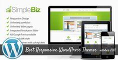 Best Responsive WordPress Themes of October 2012