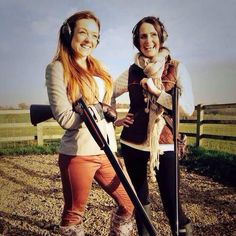 Challenging the misconception that shooting is a man's game, we're inspiring more women to try #ClayShooting #Sport