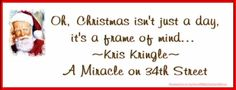 Facebook Cover Christmas Quote from A Miracle on 34th Street