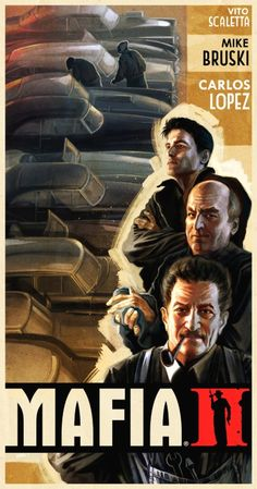 Mafia II Posters