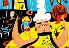 Andrea Sagardoy | Ilustradores Argentinos