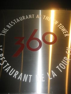 dinner at 360 restaurant cn tower