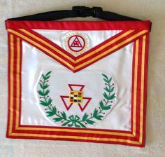 Royal Arch Mason Past High Priest Apron   eBay