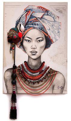 Stéphanie Ledoux - Carnets de voyage: Daphné O. - L'histoire d'une toile
