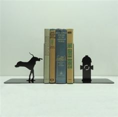 Fire Hydrant Bookends  Knob Creek Metal Arts