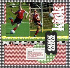 Scrappin' Sports & More: soccer