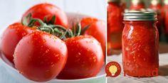 Jednoduchý spôsob, ako uchovať paradajky tak, aby vám vydržali celý rok. Ide to… New Flavour, Creative Food, I Love Food, Food Hacks, Preserves, Healthy Choices, Pesto, Food And Drink, Cooking Recipes