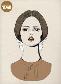 shu84: Stéphanie Rousseau Fashion Illustrations