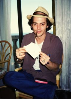 young beautiful johnny depp
