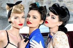 Le migliori pettinature e make up #Rockabilly (FOTO)