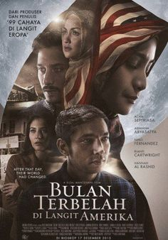 Bulan Terbelah di Langit Amerika glad that I had the chance to watch this movie on cinema with mom and sister Hd Movies, Film Movie, Movies Online, Cinema 21, Cinema Film, Film Poster Design, Movie Sites, Inspirational Movies, Transformers Movie