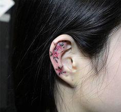 Хеликс тату - изящная и почти невидимая татуировка - Ladiesvenue.ru