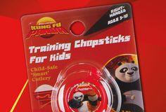 CleverstiX - training chopsticks for kids, Kung Fu Panda branded. Design by Alpha Design & Marketing Ltd