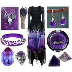 The Oracle by maggiehemlock on Polyvore featuring CO, NOVICA, Andrew Hamilton Crawford and Sugarpill