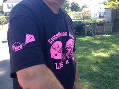 Wearing Logo With Pride Foundation Logo, Kite, Football Team, Cancer, Mens Tops, How To Wear, Black, Fashion, Moda