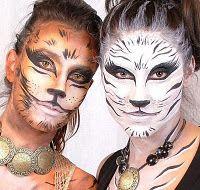 Maquillaje #carnaval #felinos
