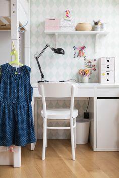 Schreibtisch , Kinderzimmer von Wiener Wohnsinn Blog.