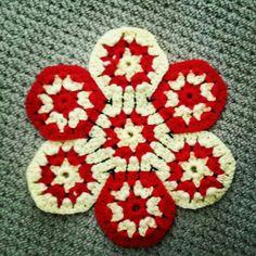 Hexagonal motif