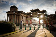 Chinese Arch in Liverpool  Pete Carr photographer