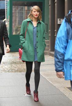 Y Taylor Swift se convirtió en icono. Sus 49 mejores looks de fiesta y street style en 2014