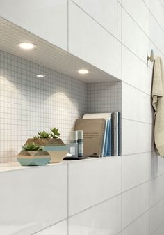 Pottery, shining glaze in 7 different colours for a vibrant wall covering. | Marazzi Your Space