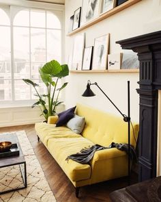 #home #inspo via @adoremagazine #mrjasongrant loves #yellow by mr_jason_grant