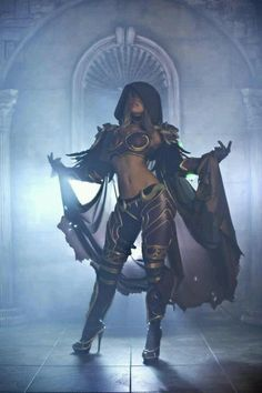 Post with 1459 votes and 75324 views. Tagged with cosplay, wow, world of warcraft, creativity, sylvanas windrunner; Sylvanas Windrunner cosplay by Tasha World Of Warcraft, Warcraft Art, Warcraft Comics, Warcraft Movie, Cosplay Games, Cosplay Outfits, Video Game Cosplay, Cosplay Anime, Amazing Cosplay