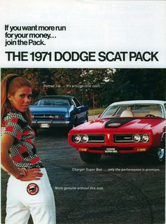 1971 Dodge Charger Super Bee  1971 Dodge Demon 340