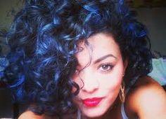 cabelo preto azulado - essa cor *-*